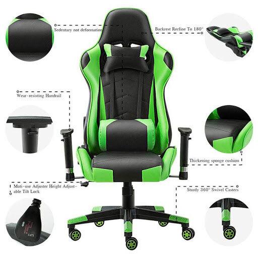 sillas gaming comodas