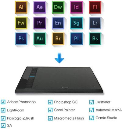 Mejor tableta gráfica para ilustración