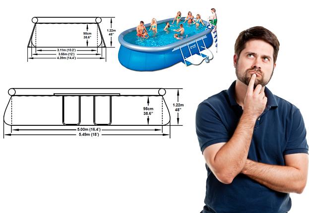 Comprar la mejor piscina desmontable del mercado