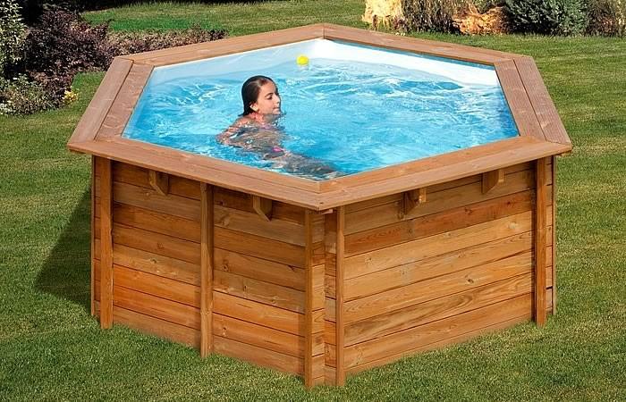 Mejores piscinas desmontables madera