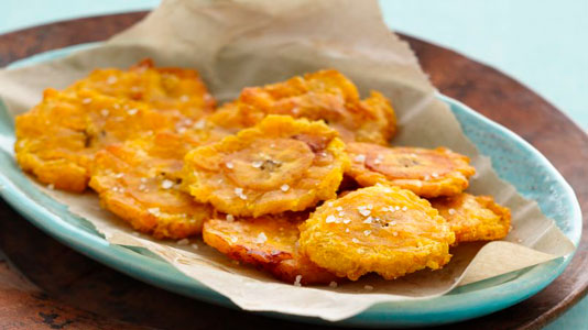 Tostones fritos sin aceite