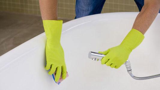 limpiar bañera